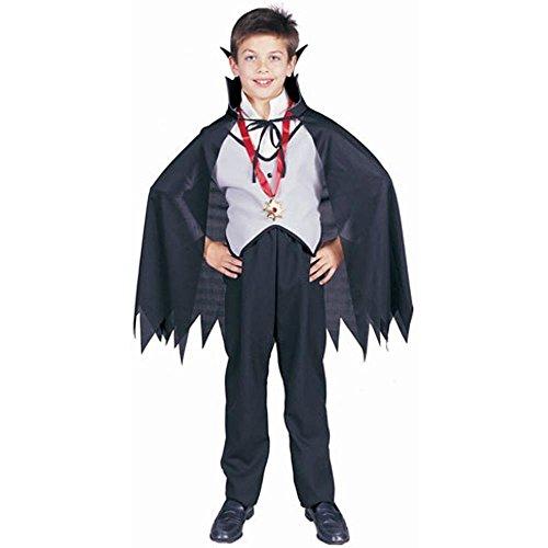 [Child Classic Vampire Costume, Size Youth Medium 8-10] (Classic Vampire Child Costumes)