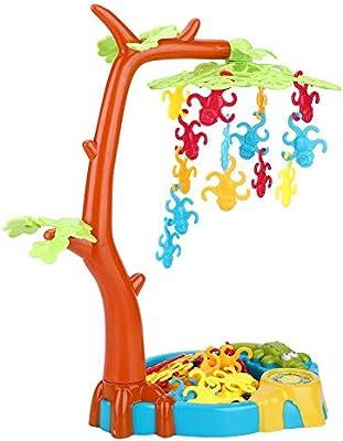 Fishlor Juego de Mesa de Equilibrio, Juguetes Monkeying Juguete de Equilibrio Alrededor de Monos Juego de Mesa de Equilibrio de Hoja de árbol Niños Juguete de niños: Amazon.es: Hogar