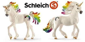 Schleich 70525 Spielzeugfigur Regenbogeneinhorn Fohlen günstig kaufen