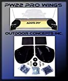 New SNOW PLOW PRO-WING BLADE EXTENSIONS for Buyers SAM PW22 Commercial Grade by The ROP Shop