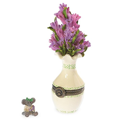 Boyds Bears Heather's Bouquet with Sprig Mcnibble Treasure Box 2013 Introduction ()