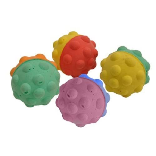 "1.5"" BumpyBall for Cats - 4 Balls Per Package"