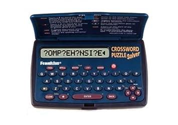 Franklin CWM 108 Crossword Puzzle Solver
