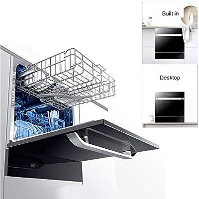 Lavavajillas, 4 Programas, Ahorro De Agua Y Electricidad, Lavado ...
