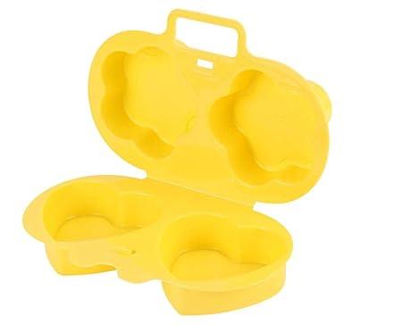 Yuaer Hueveras de plástico Tazas de Huevo furtivo Tortilla ...