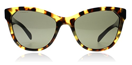 Prada PR21SS 7S0-5S2 Tortoise / Black PR21SS Cats Eyes Sunglasses Lens - Prada Cat Tortoise Eye Sunglasses