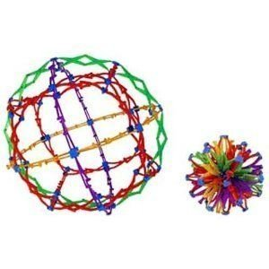 Toy / Game Educational Unique Hoberman Expanding Mini Sphere Toy - Rainbow Colors - Great For All Ages