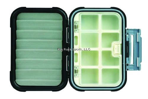 Ripple Box (Flambeau Outdoor 6124BR Blue Ribbon Waterproof Series Compartment/Ripple Foam Fly Box, Medium)