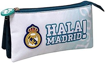 Real Madrid PT-283-RM Portatodo Triple: Amazon.es: Juguetes y juegos