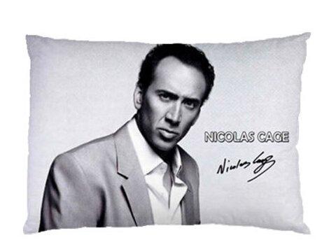 Daily Necessities Custom Nicolas Cage Funda de Almohada ...