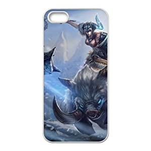 iphone5 5s phone case White Sejuani league of legends SSS6577187
