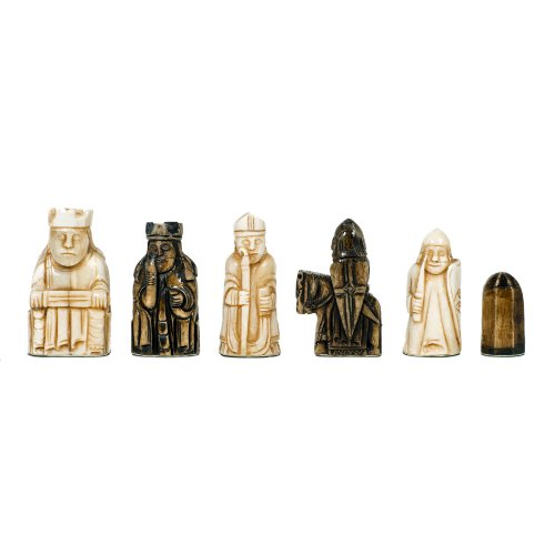 WE Games Isle of Lewis Antiquity Chess Pieces by WE Games