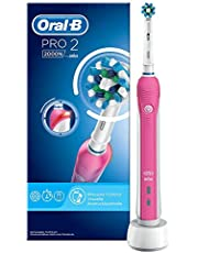 Oral-b - Pro 2 2000 Pink Cross Action Power - Tandenborstel - 1 Stuks