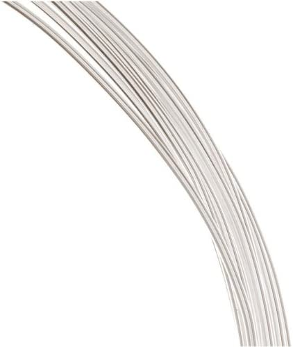 12 Ft. Sterling Silver Wire 18 Gauge 1 Ounce. Round-Half Hard