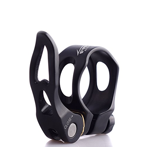 Adjust Release - UPANBIKE Aluminum Alloy Bike Seatpost Clamp Hollow Quick Release 31.8mm 34.9mm Tube Clip