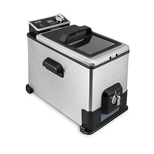 - Emeril Deep Fryer with Oil Filtration System