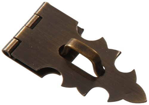 Solid Brass Decorative Hinge - 3