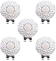 Golf Ball Markers Magnetic Golf Hat Clips Ball Marker Holder Men Women Golfer Gifts Golf Court Accssories for