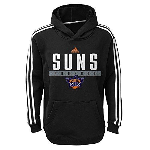 - NBA Phoenix Suns Youth Boys 8-20 Pullover Playbook Hood, Black, Small (8)
