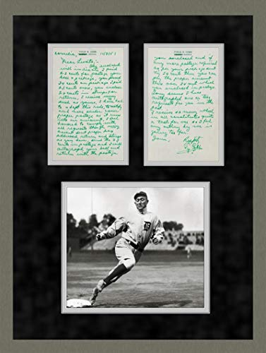 Gorgeous Ty Cobb Handwritten and Signed Letter, circa 1957 Gem Mint 10 PSA/DNA Certified MLB Cut Signatures