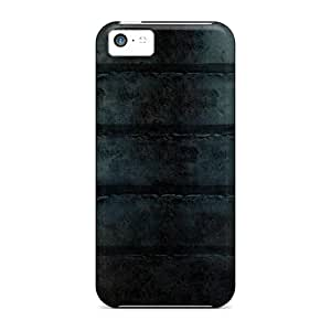 Premium Tpu Grunge Shelves Cover Skin For Iphone 5c