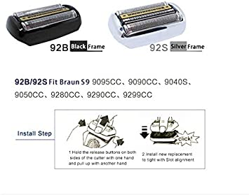 30B Shaver Cutter Blade Foil Head Compatible con la afeitadora ...