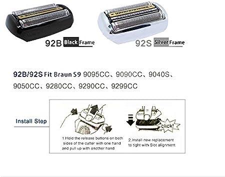 Flex integral de aluminio/aluminio RAZOR + eje cepillo de tipo ...