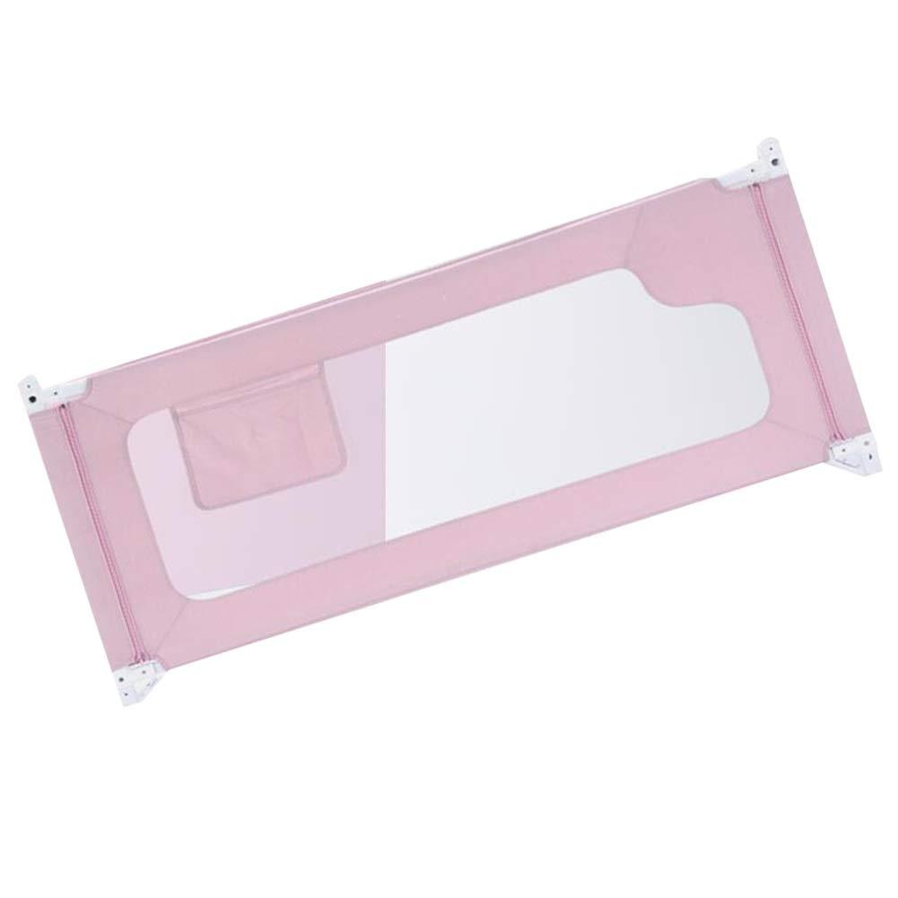 WHAIYAO ベッドレールホーム子供用ベッドレール高さ調節可能おもちゃを収納できます3色4サイズ (Color : Pink, Size : 200x86CM) 200x86CM Pink B07TXLCJFV