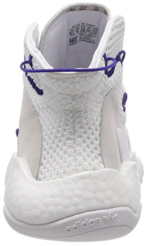 0 Adidas De Hommes chaussures Byw Pour ball Crazy Basket Blancs Violet Chaussures UwUPqO
