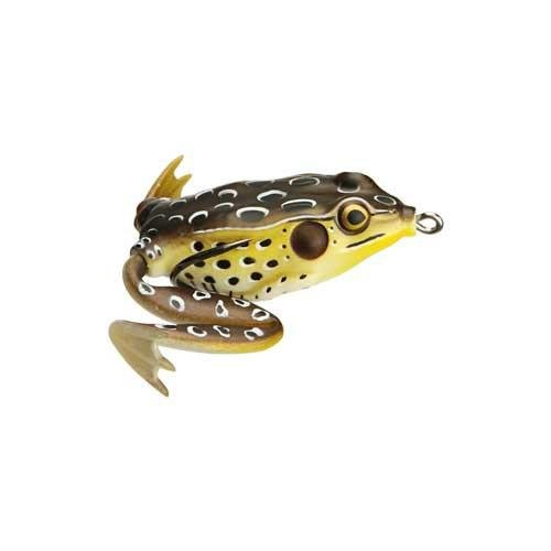 Lunkerhunt Lunker Frog Series 2.5-Inch Green Tea Style Fishing Lure