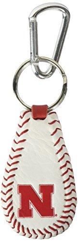 GameWear NCAA Nebraska Cornhuskers Baseball Keychain - Huskers Keychain