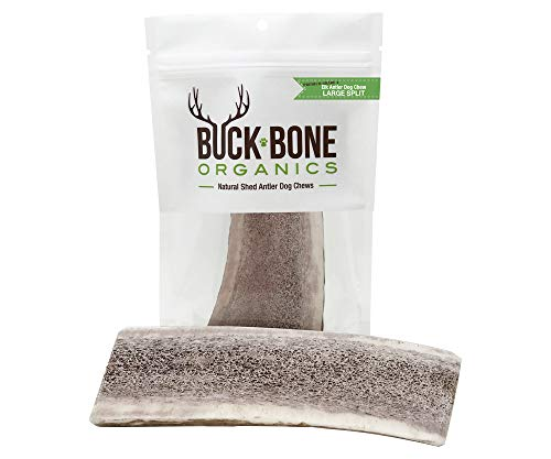 lk Antlers For Dogs, Premium Grade A - Naturally Sourced From Shed Antler, Split Antlers 6-8