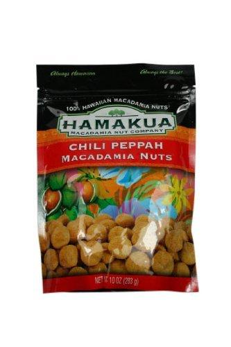Chili Peppah Macadamia Nuts 10 Oz Bag - Made in Hawaii