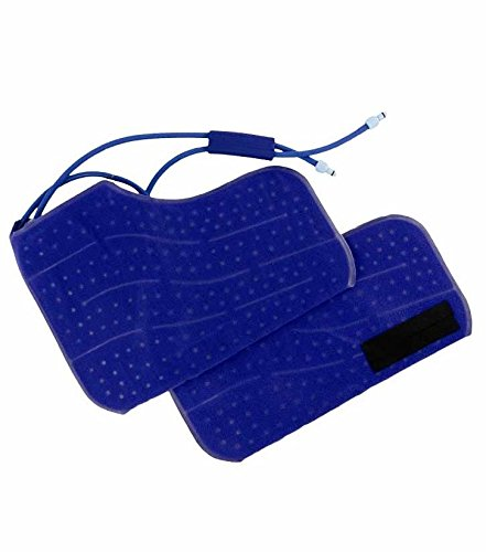 Cold Water Therapy Large Double Boot Accessory for Arctic Ice Machine - Circulating Personal Cooling Device for Foot, Ankle Pain, Aches, Swelling, Sprains, Inflammation, Injuries (Pad Only)