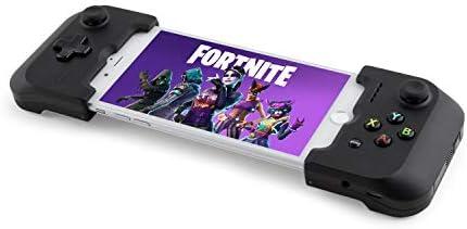 Gamevice GV157 - Mando de Juego Controller para Apple iPhone 6/6 Plus, 6s/6s Plus, 7/7 Plus, 8/8 Plus, X, XS, XS MAX, Puente Flexible, Carga y Juega - Color Negro: Amazon.es: Informática