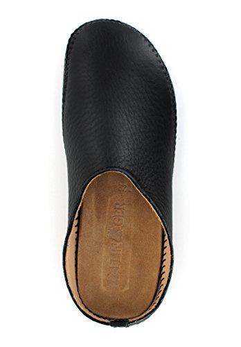 HaflingerP-Loft Leder - Mules Unisex adulto Negro - negro
