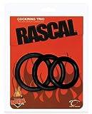 Rascal Cock Ring Trio - Black