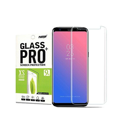 Für Galaxy S8 Panzerglas Schutzfolie,Smentech 9H Härte/Einfaches Anbringen/Anti-Kratzer/Gute Qualität/Displayschutz Gehärtetem Glass Displayschutzfolie Folie für Samsung Galaxy S8