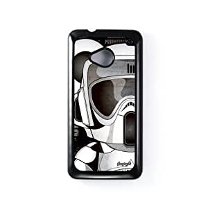 Scout Trooper 1 Black Hard Plastic Case Snap-On Protective Back Cover for HTC? One M7 by Gangtoyz + FREE Crystal Clear Screen Protector