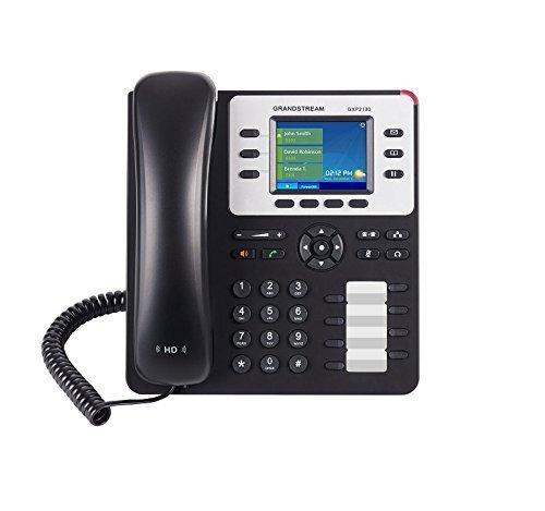 5 opinioni per Grandstream GXP2130 v2 Telefono 3-Line Enterprise VoIP, Display TFT a Colori