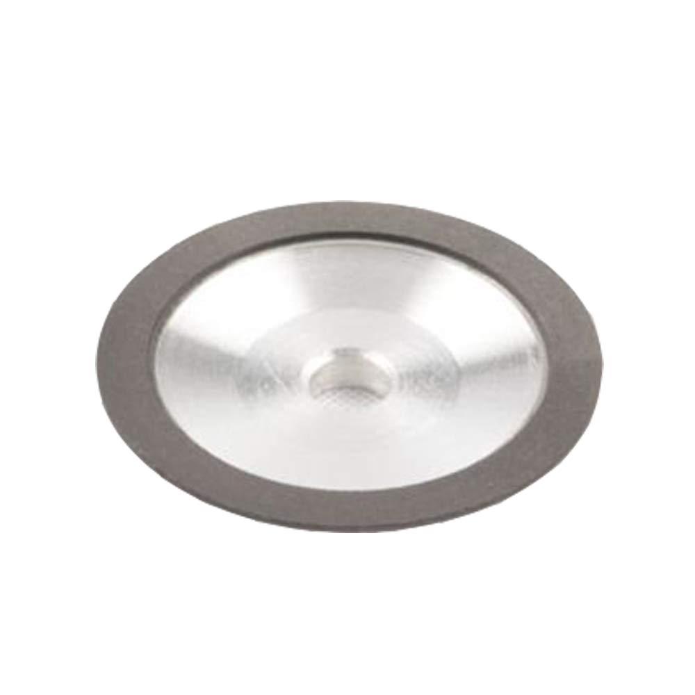 Schleifscheiben fü r rund Hartmetall Sä geblatt Spitzer Mahlwerk Schleifscheibe Durchmesser: 80 mm MXBAOHENG MX73