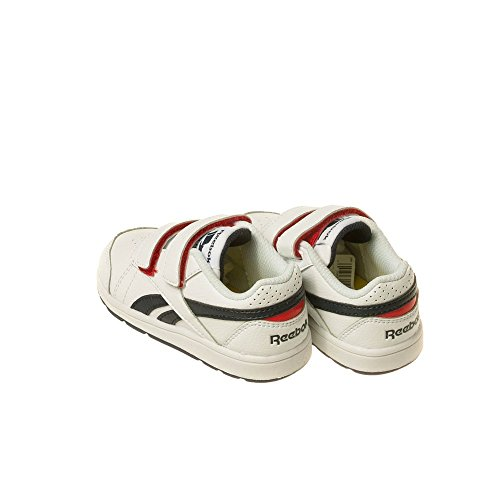 Reebok Primal Bianco – navy Sneaker white rosso Bimbi 24 Bs7291 Unisex 0 Navy Red 7A7qrS