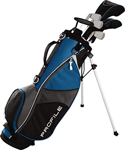(Wilson Golf Profile JGI Junior Complete Golf Set - Large, Blue, Right Hand)
