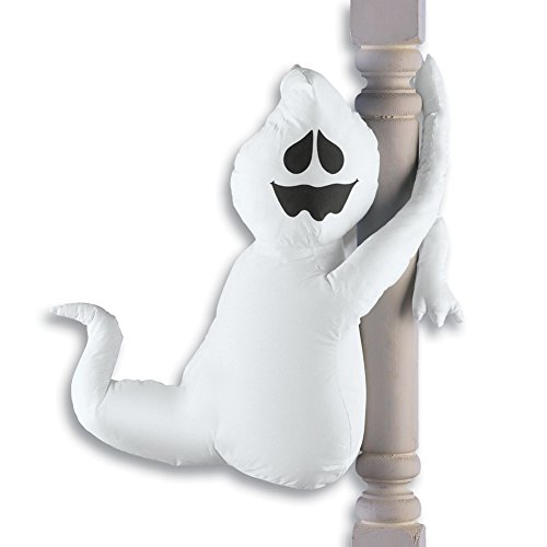 Cute Poseable Halloween Porch Decorations, Ghost