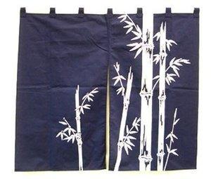 Japanese Noren Curtain Bamboo 33.5x29.5 #p18575b