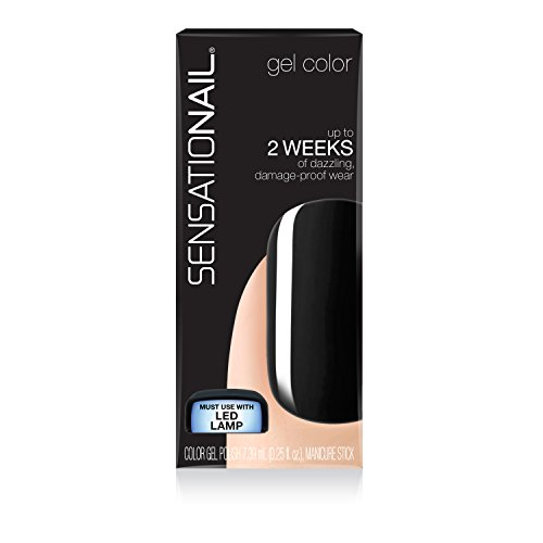 Sensationail Color Gel Polish Midnight Rendezvous 71681 0.25 Fl. Oz. by CoCo-Shop