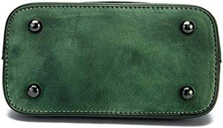 BXDYA Grüne Scrub-Handtasche, Frauen-Grün Scrub Tasche Multi-Funktions-Diagonal-Tasche Retro Multi-Tasche Handtasche Multi-Pocket-Kapazität