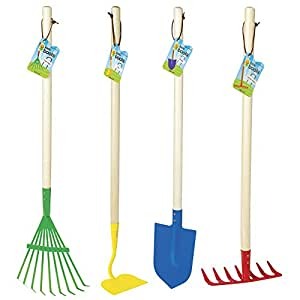 Toysmith Big Kids Garden Tool Set
