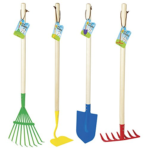 Top Toys for 5 Year Old Boys -  Toysmith Big Kids Garden Tool Set