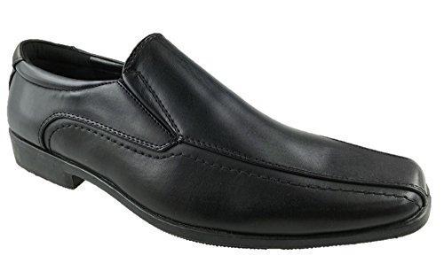 BATA Chaussures à Lacets Homme - Noir - Noir,